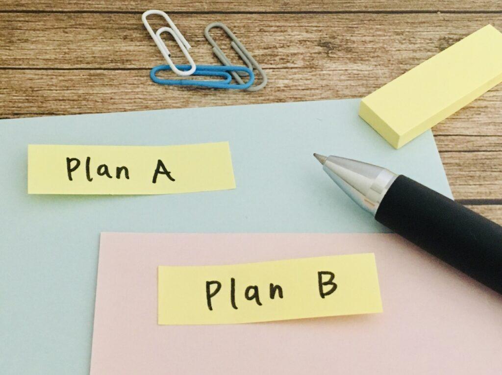 PlanA or B_二つの方法