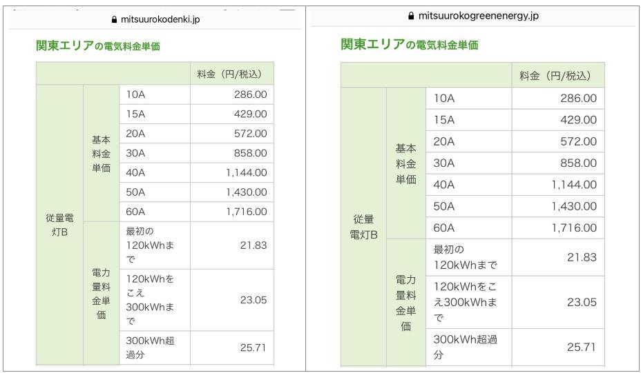 ミツウロコ電気料金単価「ヴィッセル」「グリーンエネルギー」